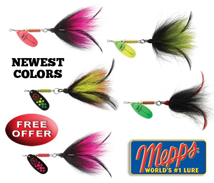 Free Musky Killer Spinner!