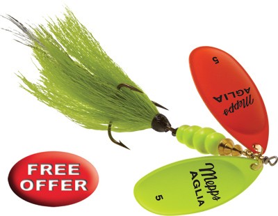 FREE Aglia Double Blade Spinner