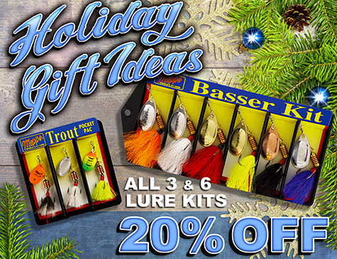 20% Off All 3 and 6 Lure Kits