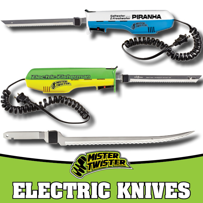 Mister Twister Electric Knives