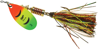 Featured Lure: Aglia Flashabou Spinner