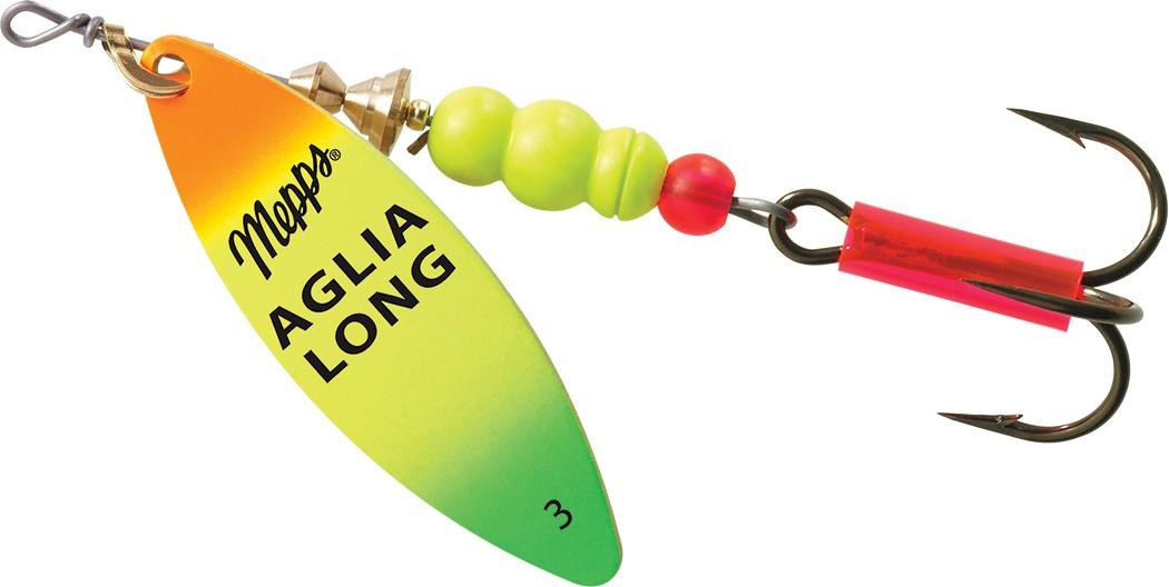 Mepps Spinner Aglia Longue Rainbow Gr.3