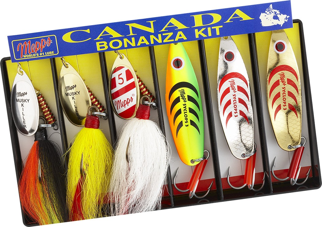 Canada Bonanza Kit - Musky and Pike Variety Fishing Lure | Mepps