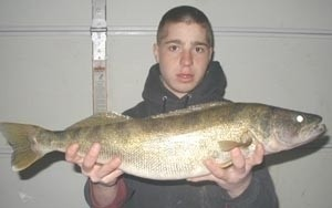Photo of Walleye Caught by Matt with Mepps  in New York