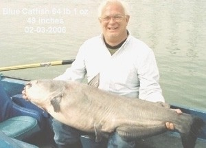Photo of Catfish Caught by Eric with Mepps  in Tennessee