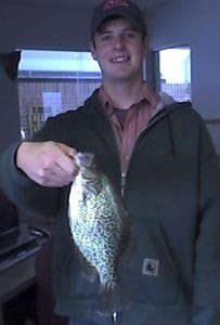 Photo of Corey's 5/19/06 Crappie (Black)