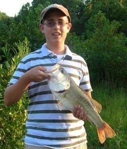 Photo of Bass Caught by Jason with Mepps Comet Mino in South Carolina