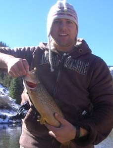 Photo of Trout Caught by Robert with Mepps Syclops Lite in Colorado - Mepps