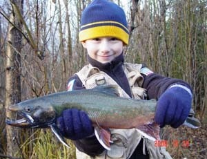 Photo of Lewis's 11/19/06 Trout, Dolly Varden