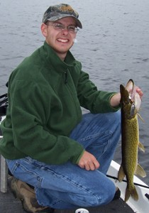 Photo of Justin's 2/23/07 Pickerel