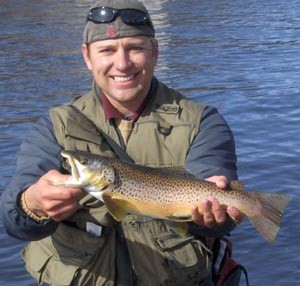 Photo of Trout Caught by Robert with Mepps Syclops in Colorado