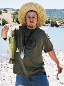 Photo of Bass Caught by Ryan with Mepps See Best Plain Treble Hook in California
