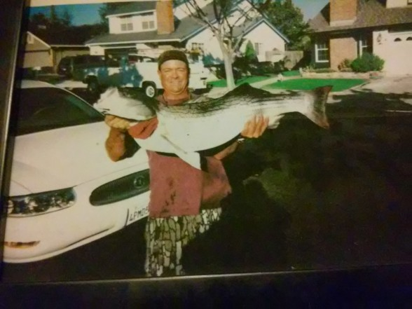 Photo of Bass Caught by John with Mepps Flying C in California