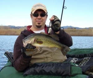 Photo of Bass Caught by Don with Mepps Black Fury in Colorado
