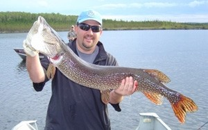 Photo of Pike Caught by Joe with Mepps Syclops in Ontario