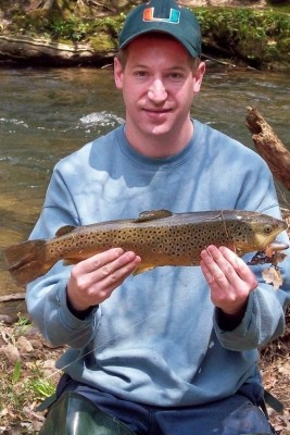 Photo of Troy's 5/2/08 Trout, Brown