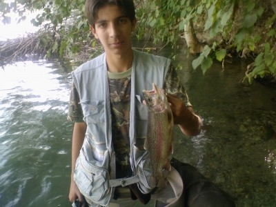 Photo of Trout Caught by Amir with Mepps Aglia & Dressed Aglia in Iran