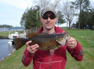 Photo of Andrew's 5/24/08 Bass, Smallmouth