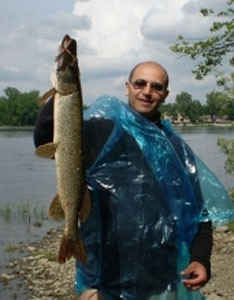 Photo of Pike Caught by Nouamane with Mepps Black Fury in Quebec