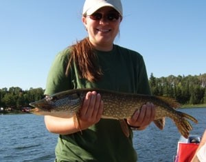 Photo of Pike Caught by Rachelle  with Mepps Musky Killer in Ontario