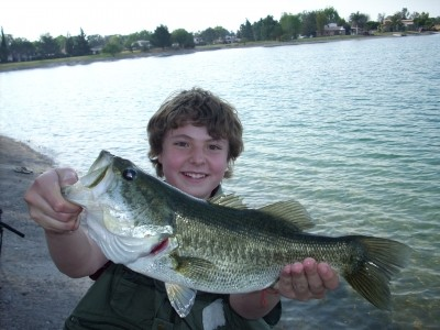 Photo of Erich's 1/5/09 Bass, Largemouth