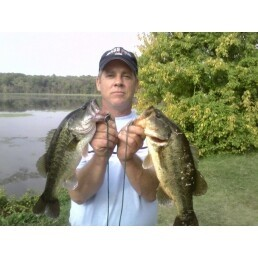 Photo of Bass Caught by Jeff with Mister Twister Aglia & Dressed Aglia in Virginia - Mister Twister