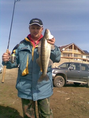Photo of Sorin's 3/11/09 Walleye