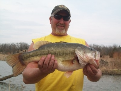 Photo of Dean's 3/22/09 Bass, Largemouth