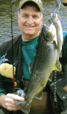 Photo of Trout Caught by Scott with Mepps Aglia & Dressed Aglia in Pennsylvania