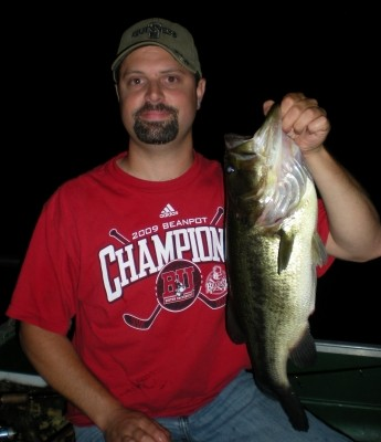 Photo of Stanley's 6/25/09 Bass, Largemouth