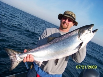 Photo of Salmon Caught by Jeff with Mister Twister Syclops Lite in United States - Mister Twister