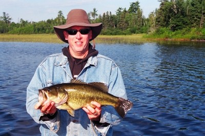 Photo of Bass Caught by Tim  with Mister Twister Aglia & Dressed Aglia in Minnesota - Mister Twister