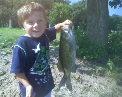 Photo of Bass Caught by Mike  with Mepps XD in Ohio