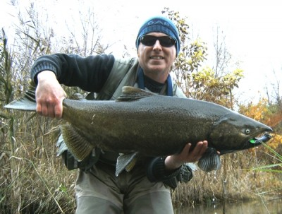 Photo of Ted's 10/24/09 Salmon, Chinook (king)