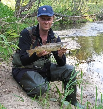 Photo of Vecheslav's 5/15/07 Trout, Brown