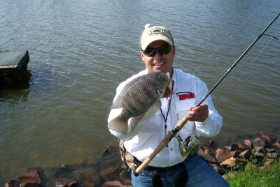 Photo of Jorge's 8/15/09 Crappie (Black)