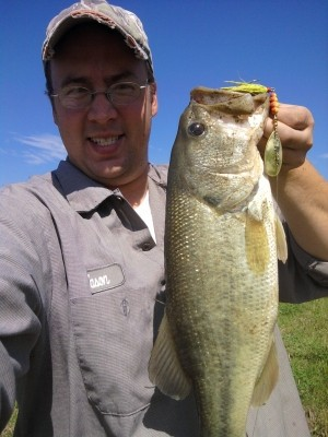 Photo of Jason's 5/14/10 Bass, Largemouth