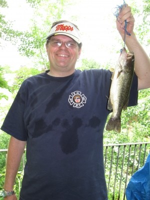 Photo of Bass Caught by William with Mepps Aglia & Dressed Aglia in Vermont