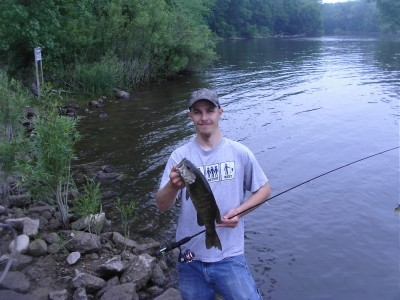 Photo of Jayme 's 6/27/10 Bass, Smallmouth