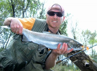 Photo of Ted's 9/16/10 Salmon, Coho (silver)