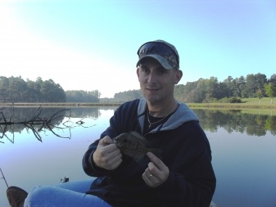 Photo of Bluegill Caught by Scott with Mepps XD in Georgia