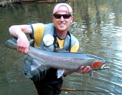 Photo of Ted's 10/11/10 Steelhead