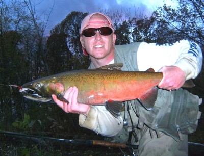 Photo of Ted's 10/26/10 Salmon, Coho (silver)