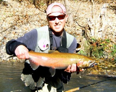 Photo of Ted's 10/27/10 Salmon, Coho (silver)