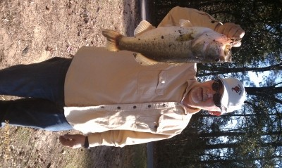 Photo of Bass Caught by Michael with Mepps Aglia & Dressed Aglia in Texas