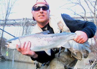Photo of Ted's 3/20/11 Steelhead