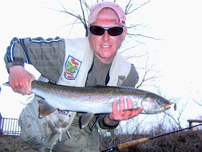 Photo of Ted's 4/5/11 Steelhead