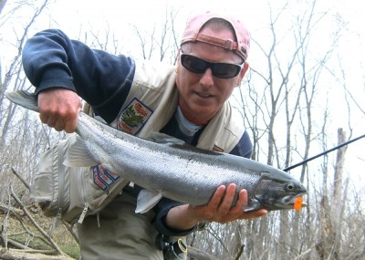 Photo of Ted's 4/6/11 Steelhead