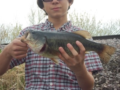 Photo of Bass Caught by Cody with Mepps Black Fury in Wisconsin