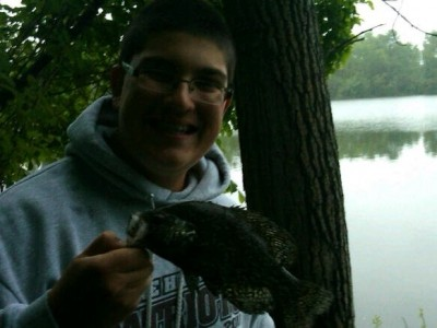 Photo of Christopher's 5/16/11 Crappie (Black)